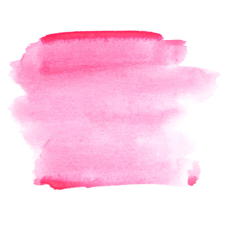 pale colours: Pink watercolor strokes - abstract background and space for your own text