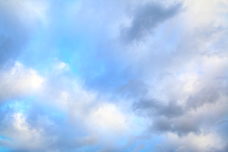 cloudy sky: Clouds -  may be used as background