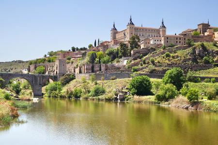 toledo town: View of Toledo town in Spain