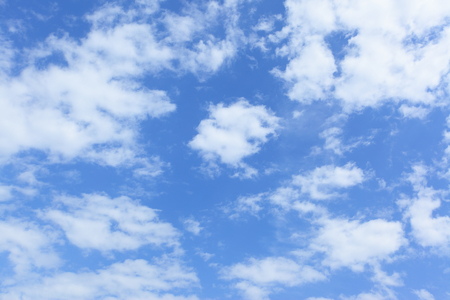 backdrops: Blue sky and clouds - may be used as background