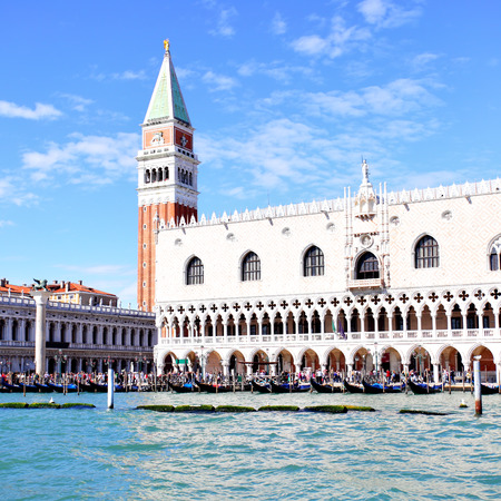 curch: View of Venice, Italy Stock Photo