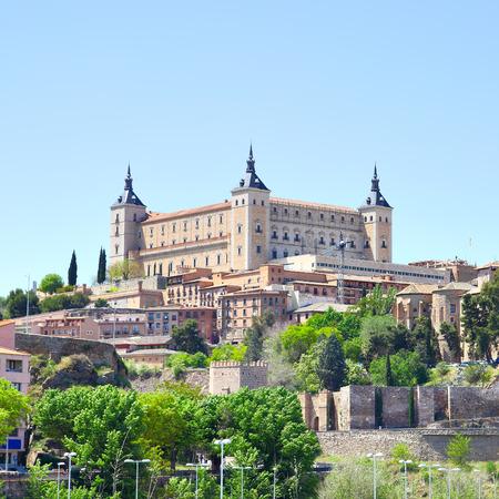toledo: Alcazar fortress in Toledo, Spain