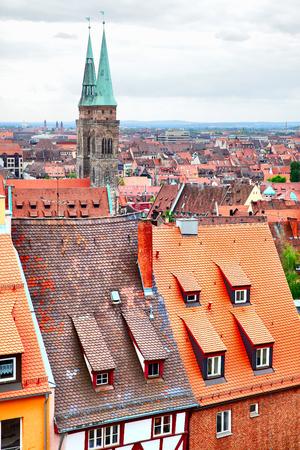 altstadt: Old Town (Altstadt) of Nuremberg, Germany