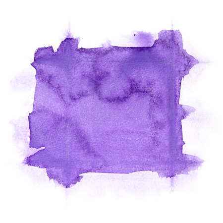 Violet abstract watercolor background Stock Photo