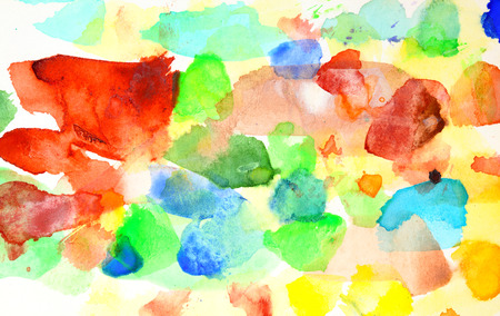 variegated: Vivid variegated abstract watercolor background