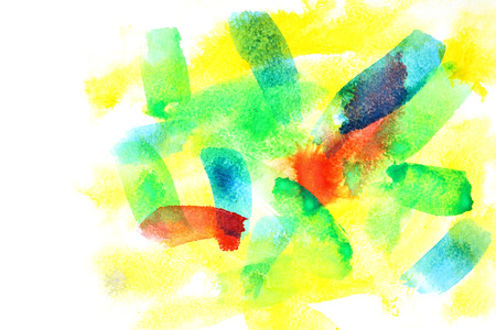variegated: Variegated abstract watercolor background with copyspace