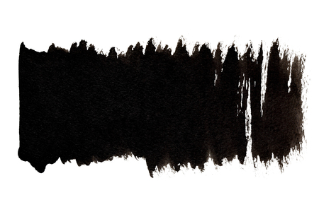 Black brush strokes with indents - space for your own text