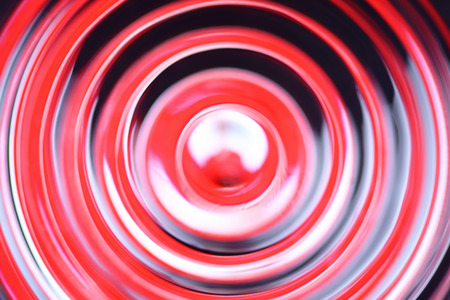 crimped: Abstract defocused concentric circles - Stop sign