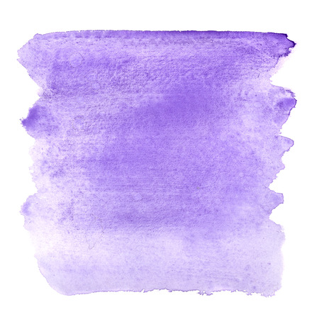 watercolor brush: Blue violet watercolor brush strokes - abstract background