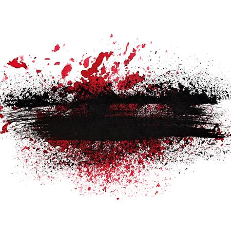 splatter paint: Grunge abstract background - raster illustration