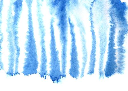 Motif de peau de zèbre bleu. Aquarelle abstrait. Raster illustration Banque d'images - 73578452