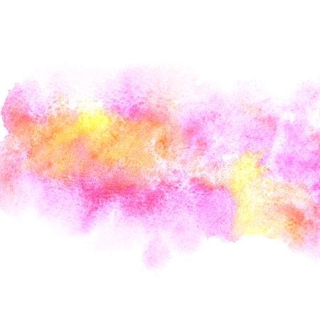 amorphous: Colorful abstract watercolor painted background. Vivid element for your design Stock Photo