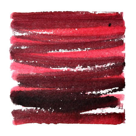 Dirty red doodle abstract background. Raster illustration