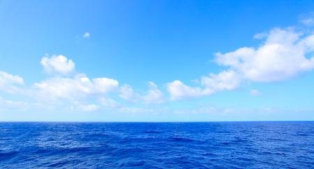 Bella vista sul mare panoramica dell'Oceano Atlantico, fondo naturale della foto Archivio Fotografico - 78083109