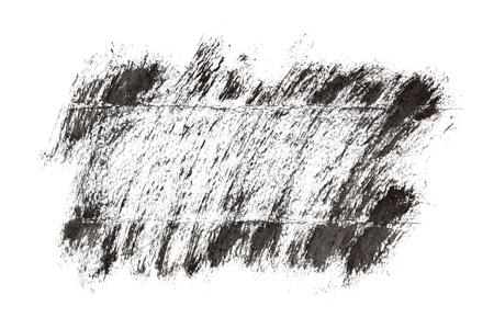 garabatos: Marco negro grunge por pinceladas
