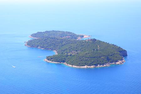 Lokrum island near Dubrovnik town, Croatia Stock Photo