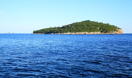 Lokrum island near Dubrovnik in Croatia Stock Photo