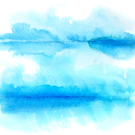 spill: Abstract watercolor background with folds - space for text Stock Photo