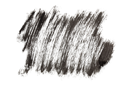 blackwhite: Black paint strokes isolated on the background