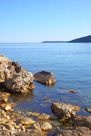balkans: View of the Boka Kotorska bay in Montenegro - Water landscape