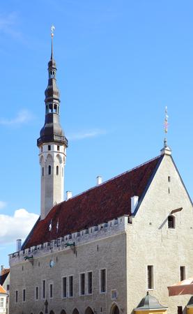 tallin: City hall in Tallin, Estonia