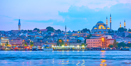 Old town of Istanbul, Turkey Stock Photo