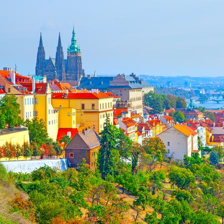 Hradcany - Castle District in Prague, Czech Republic