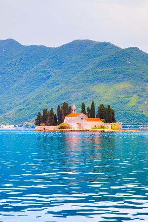 St. George Island in the Kotor Bay, Perast, Montenegro