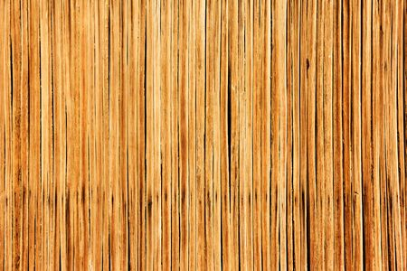 Texture of thin wooden planks. Wall of traditional arabian hut,  may be used as background