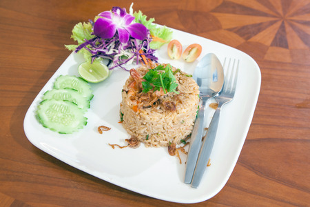 thai food: Fried rice thai food