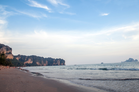 aonang: ao-nang beach krabi thailand Stock Photo