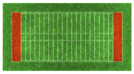 american football stadium: American football field. Aerial view.3d illustration. Stock Photo