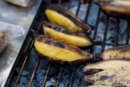 fried bananas: Los pl�tanos fritos