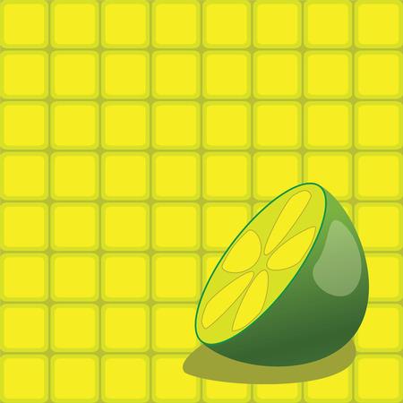 Back ground vector square draw Illustration