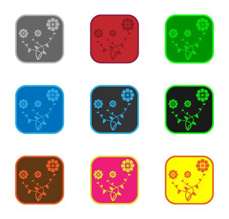 Vector illustration eps8 format for web and design  Illustration