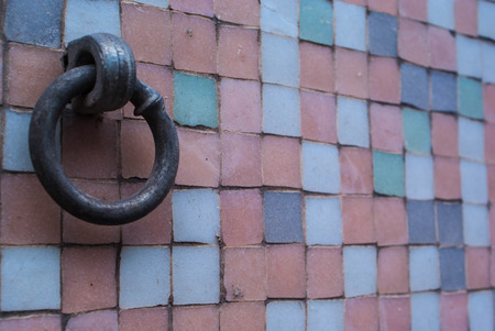 wall with  hook screw