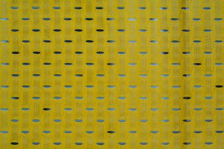 breathable: Close up di nylon poliestere giallo giallo Archivio Fotografico