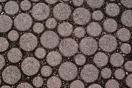 pave: Stone road texture and background Stock Photo