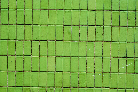 Green Rectangular Tiles Background Texture photo