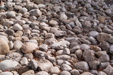 pepples: Big rocks background and texture Stock Photo