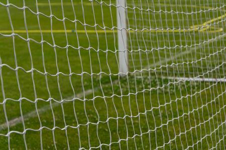 Goal at the stadium