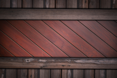 wooden wall with horizontal wood planks background.