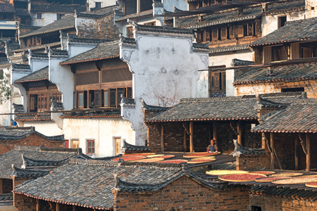 wuyuan,the most beautiful village in China photo