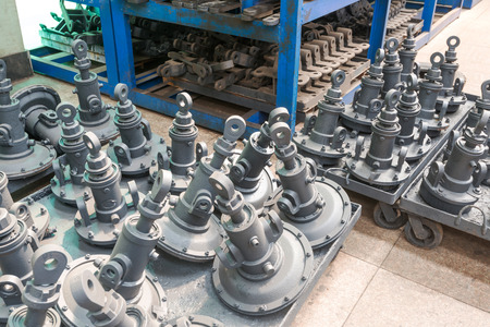 shafts: Drive shafts in its factory