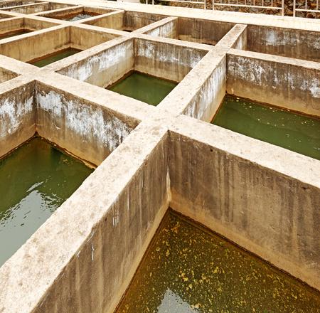 水のクリーニング施設屋外