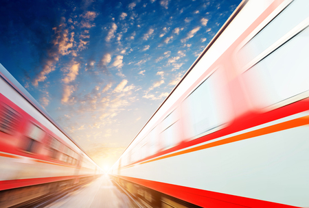vacancy: fast moving train