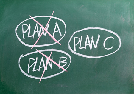 if a plan fails just choose another one
