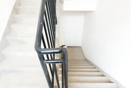 corridors: Modern building interior. Staircase