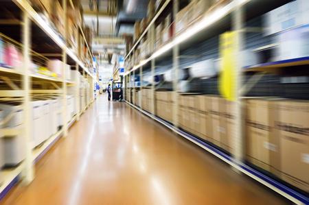 corridors: warehouse interior