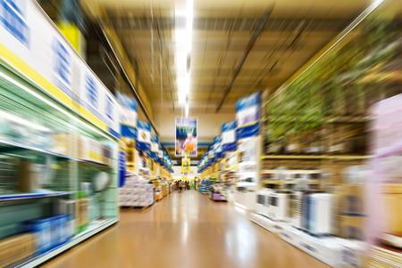 ショッピング モールの内部 写真素材